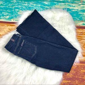'A' pocket 7 for all man kind dark jeans. Size 26